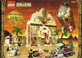 5988 Лего Храм Анубиса