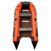 Пилигрим 340 оранжево-черный (лодка ПВХ под мотор)