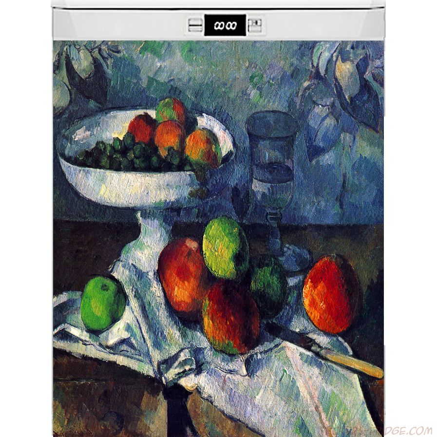 Наклейка на посудомоечную машину - Ваза с фруктами