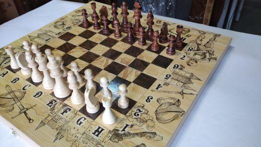 Нарды, шашки, шахматы на 50 Рыцари