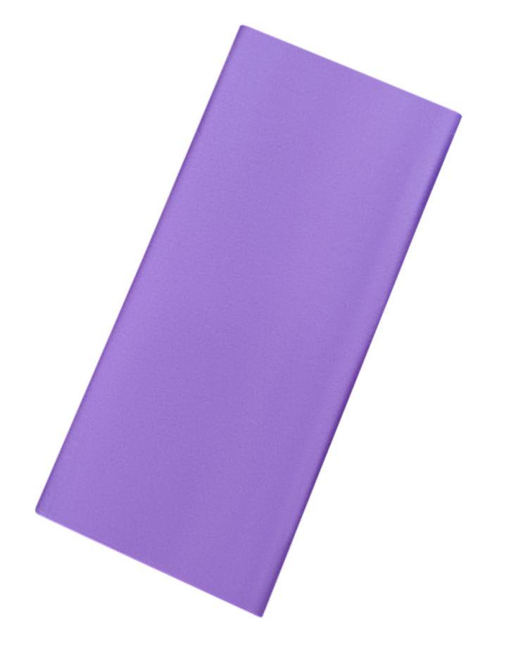 Бумага упаковочная, подарочная. Тишью. фиолетовая. 50х66 см. 10 листов.