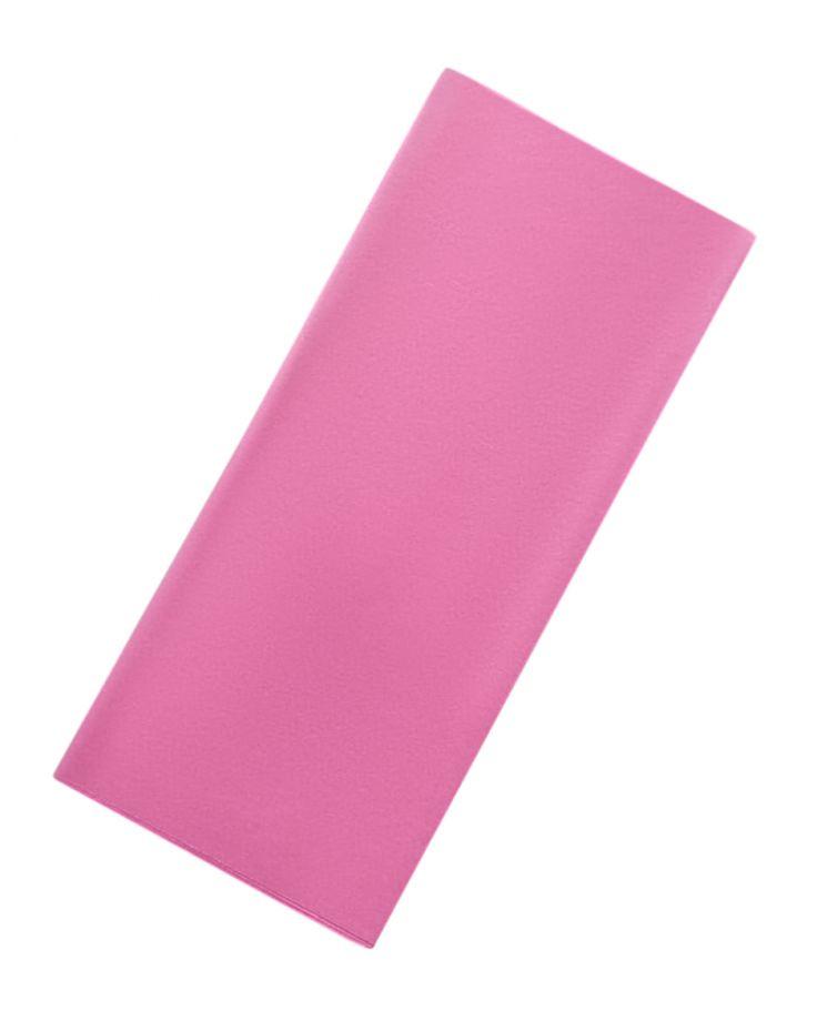 Бумага упаковочная, подарочная. Тишью. розовый. 50х66 см. 10 листов.