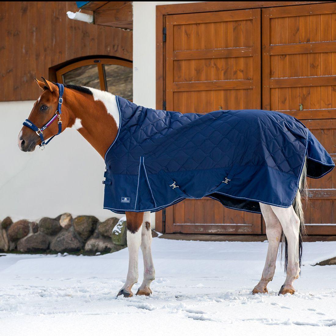 Попона денниковая PERFECT HORSE с высокой холкой, 150 гр