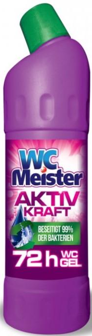 Средство для чистки унитазов Meister Aktiv 1л