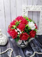розы из мыла