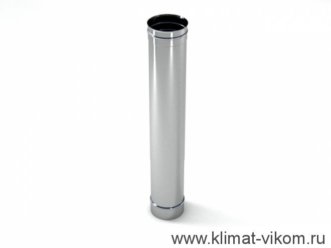 Труба ф 200,  0,5м, AISI 439/0,5мм