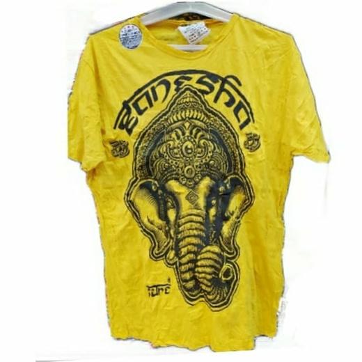 Хлопковая футболка со слоном.