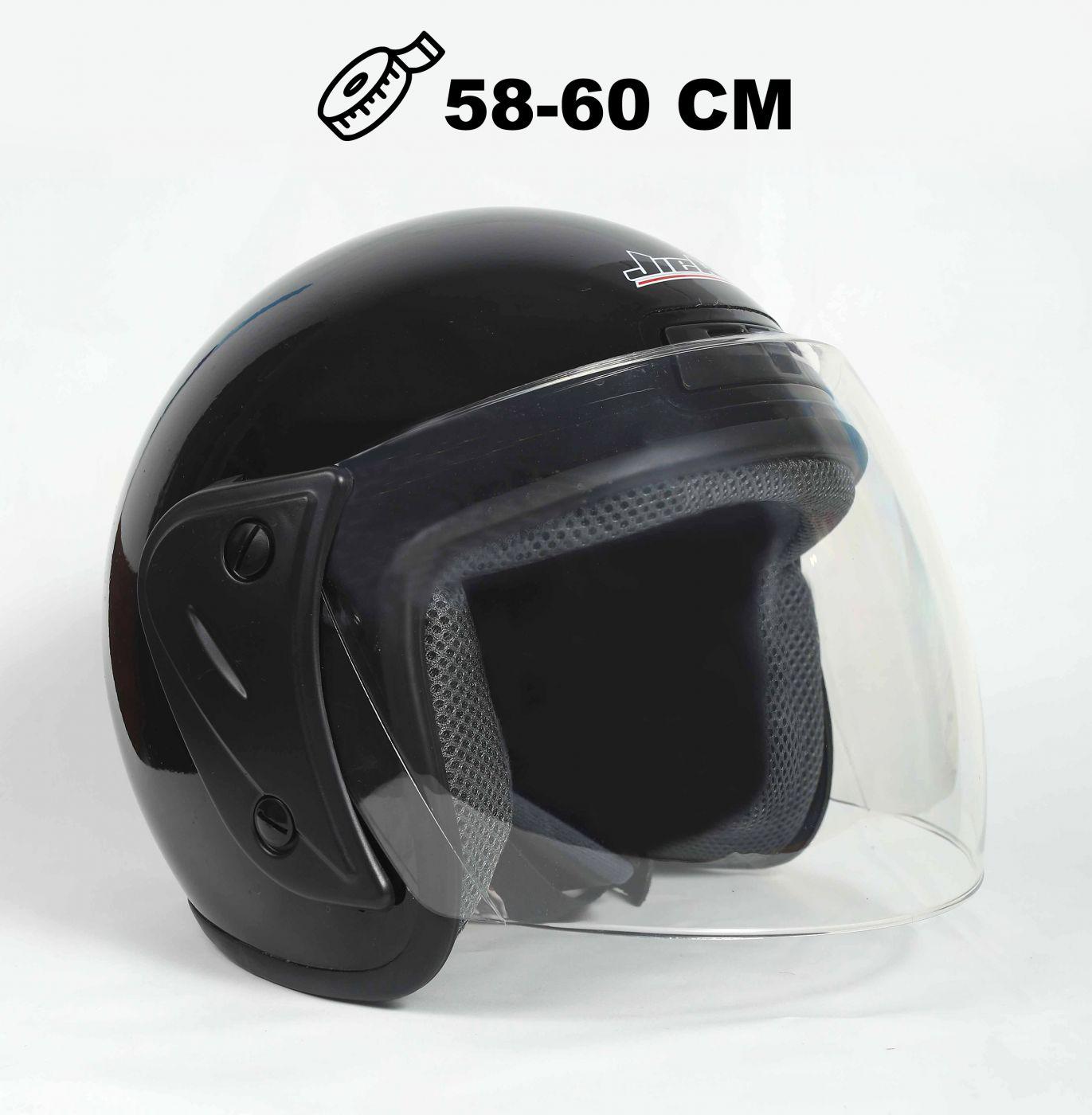Шлем открытый Jiekai 202 black