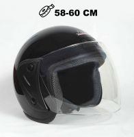 Шлем открытый Jiekai 202 black фото 1