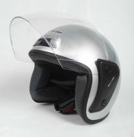 Шлем открытый Jiekai 202 silver фото 3