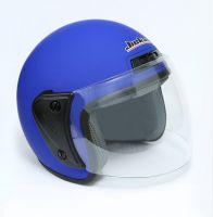 Шлем открытый Jiekai 202 blue petrol фото 2