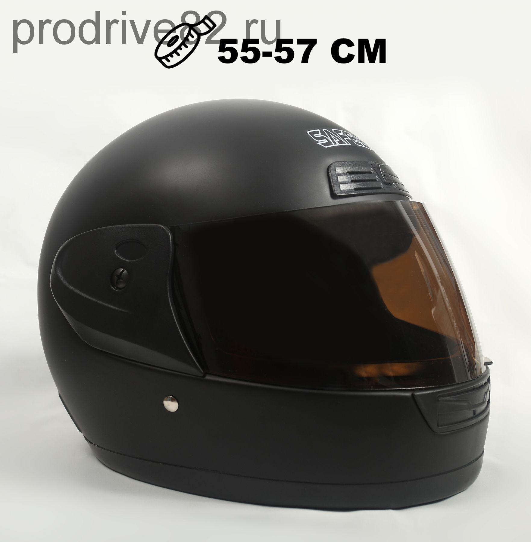 Шлем интеграл Safebet 109 Black Matt
