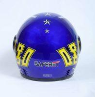 Шлем интеграл Safebet 109 Blue фото 4