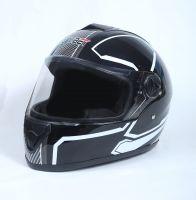 Шлем интеграл Safebet 112 black, white фото 3