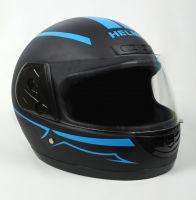 Шлем интеграл Helmo HZF03 BlackMat-Blue фото 2
