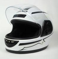 Шлем интеграл Helmo HZF03 White-Black фото 3