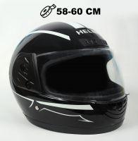 Шлем интеграл Helmo HZF03 Black-White фото 1
