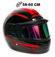 Шлем интеграл Helmo Double Glass Red