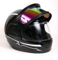 Шлем интеграл Helmo Double Glass Black-Blue фото 5