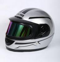 Шлем интеграл Helmo Double Glass Silver фото 3
