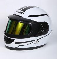 Шлем интеграл Helmo Double Glass White фотоШлем интеграл Helmo Double Glass White фото 3