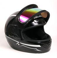 Шлем интеграл Helmo Double Glass Black-White фото 6