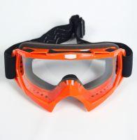 Мото очки М004 Orange фото 2