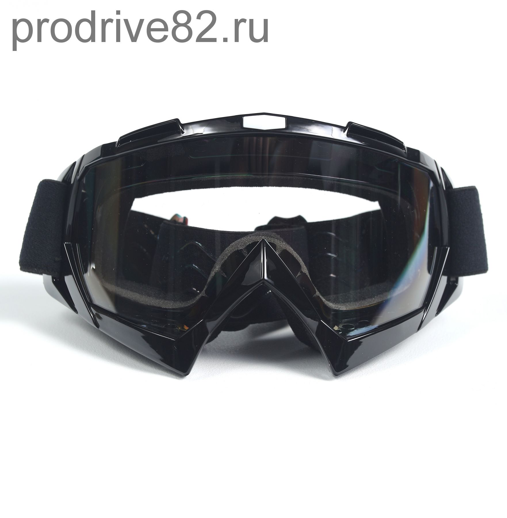 Мото очки М004 Black