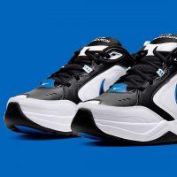 Nike Air Monarch IV White Black Blue