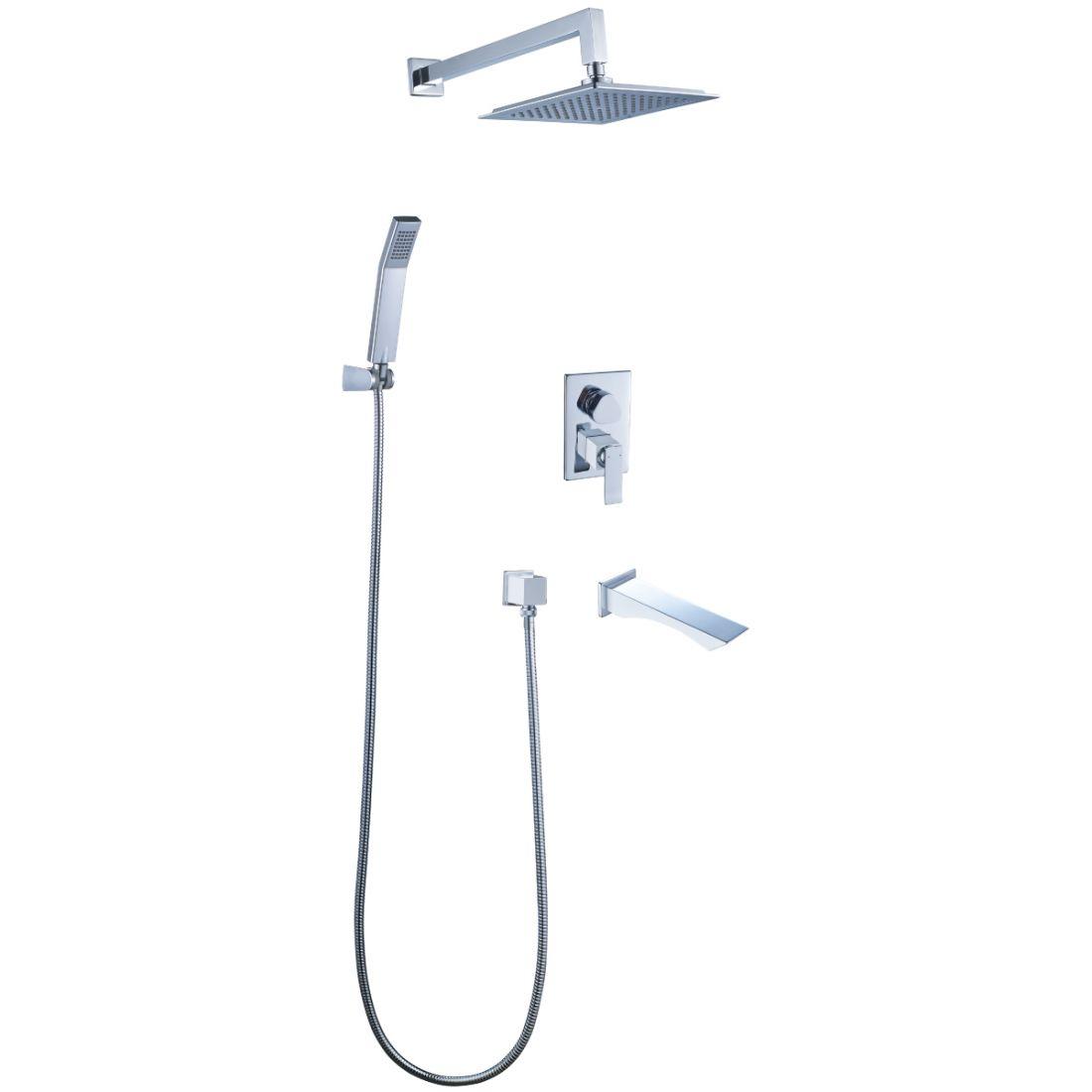 Душевая программа для ванны Lemark Contest (LM5822CW)