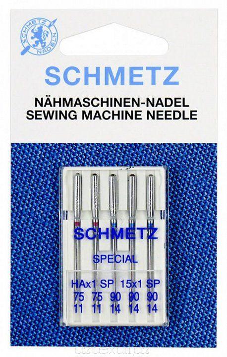 Игл Бытовые Schmetz 130/750HA x 1 SP №75(2),90(3) 5шт Super Stretch