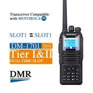 Рация Baofeng DM-1701 (TIER I и TIER II) аналогово-цифровая VHF/UHF