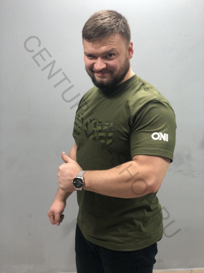 Футболка ONI ALL Grip T-shirt (хаки)