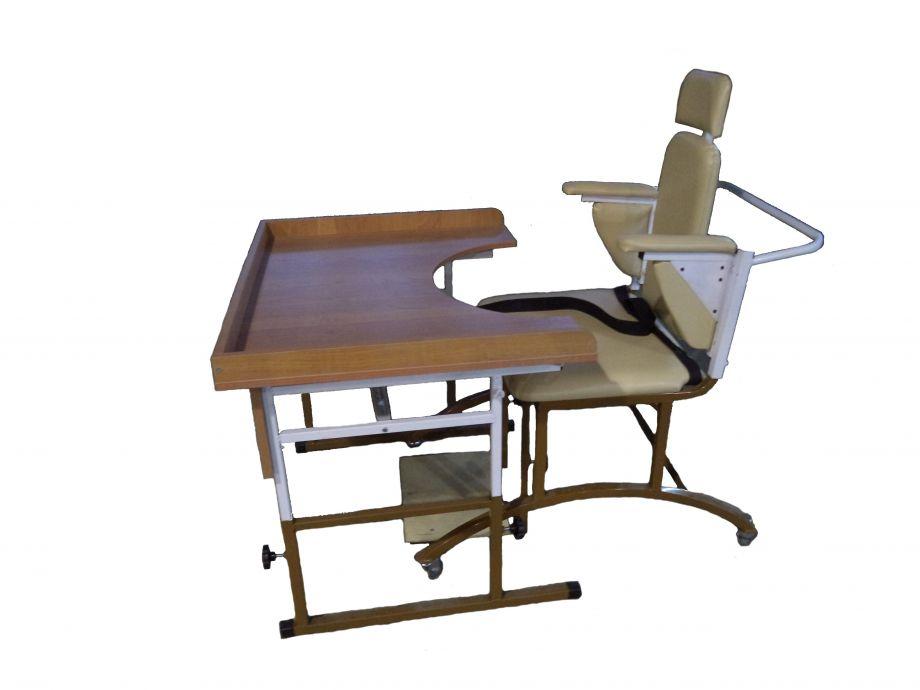 Комплект учебной мебели для детей с нарушением опорно-двигательного аппарата