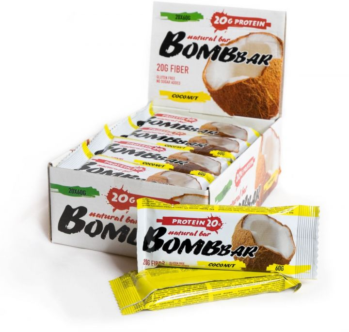 Батончики BombBar (Кокос)