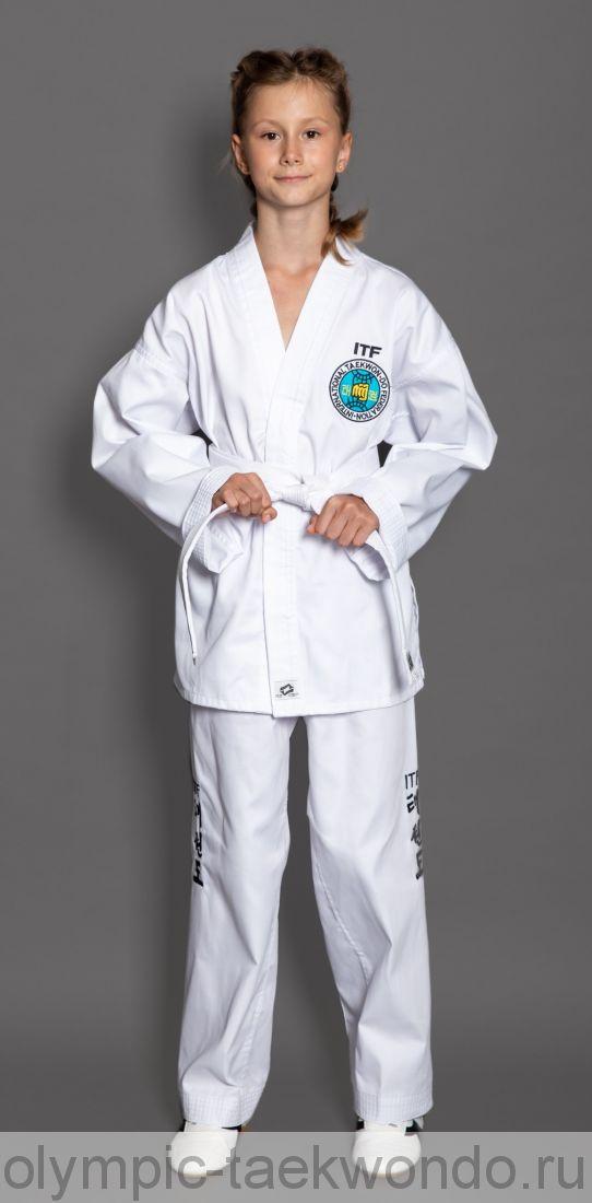 ДОБОК для TAEKWONDO ITF (белый кант)
