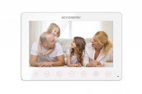 Цветной видеодомофон Accordtec AT-VD 751C WH