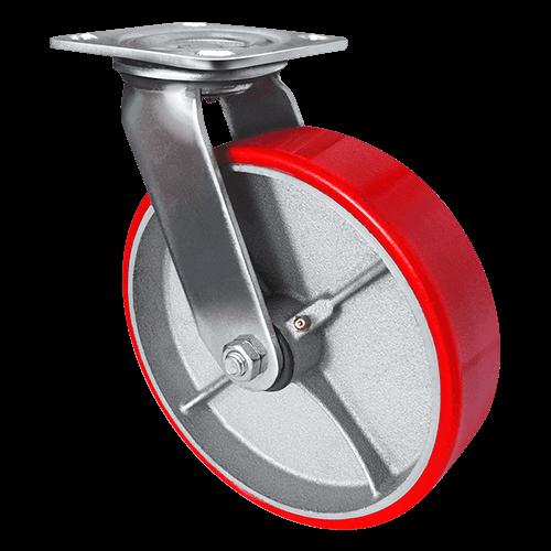 Колесо большегрузное полиуретановое поворотное SCp