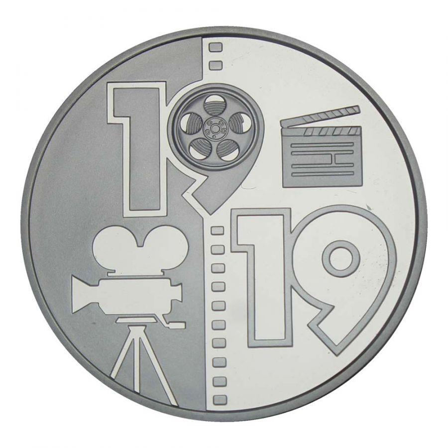 5 гривен 2019 Украина 100 лет Одесской киностудии