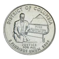 25 центов 2009 США Округ Колумбия D (Штаты и территории США)