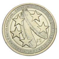 1 доллар 2021 США Индейцы в армии США (Коренные Американцы)