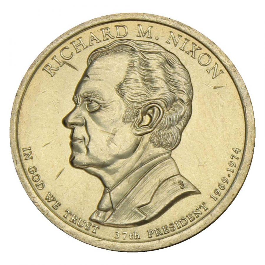 1 доллар 2016 США Ричард Никсон (Президенты США)