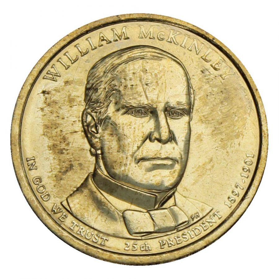 1 доллар 2013 США Уильям Мак-Кинли (Президенты США)