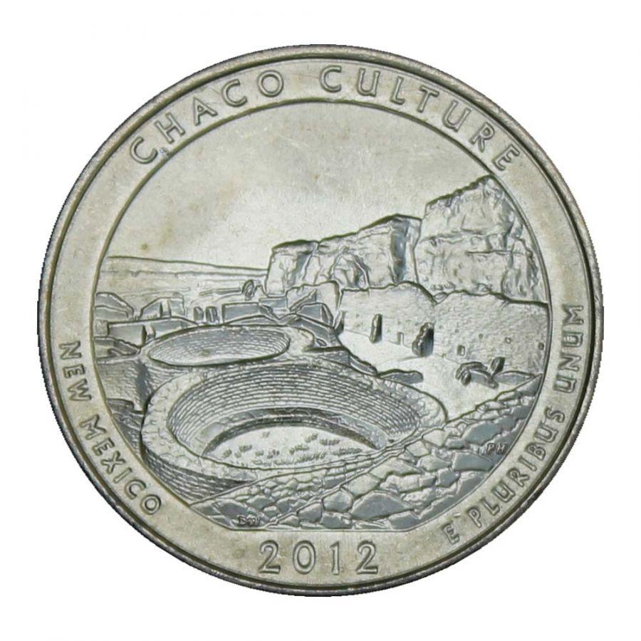 25 центов 2012 США Национальный исторический парк Чако D