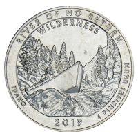 25 центов 2019 США Дикая местность - Река Фрэнк Черч (Айдахо) S