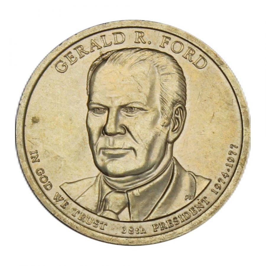 1 доллар 2016 США Джеральд Форд (Президенты США)