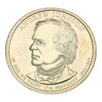 1 доллар 2011 США Эндрю Джонсон (Президенты США)