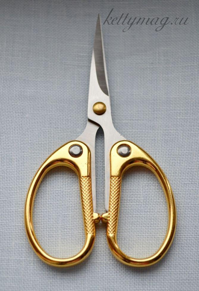 Ножницы для рукоделия, длина 10см
