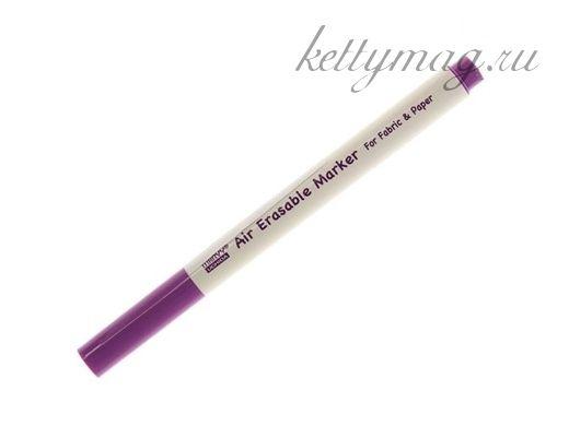 Маркер MARVY для разметки ткани 1мм исчезающий, цвет фиолетовый