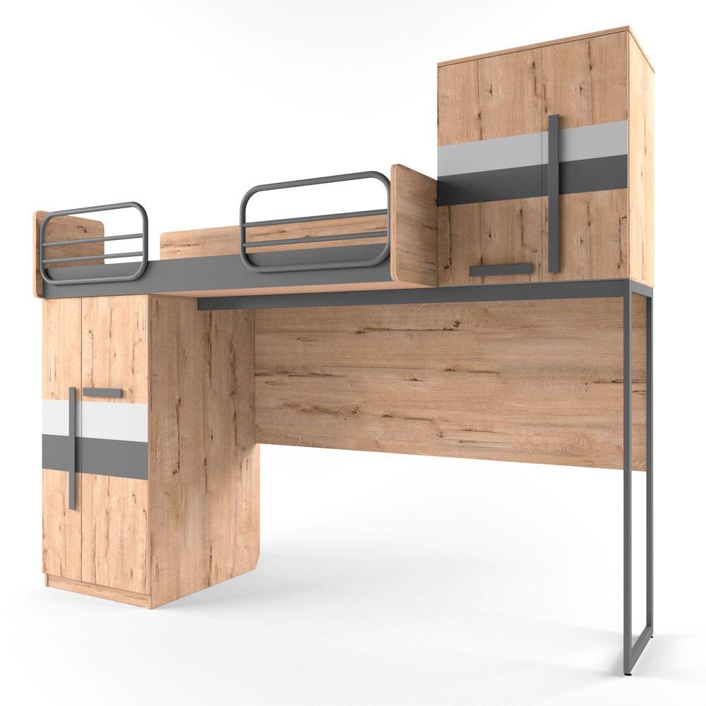 """Набор """"Лофт"""" с двухъярусной кроватью"""